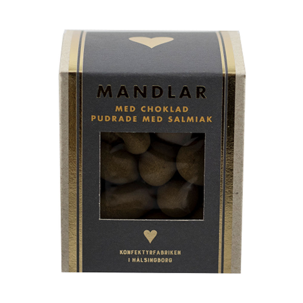 Chokladdoppade Mandlar lakrits 175 g
