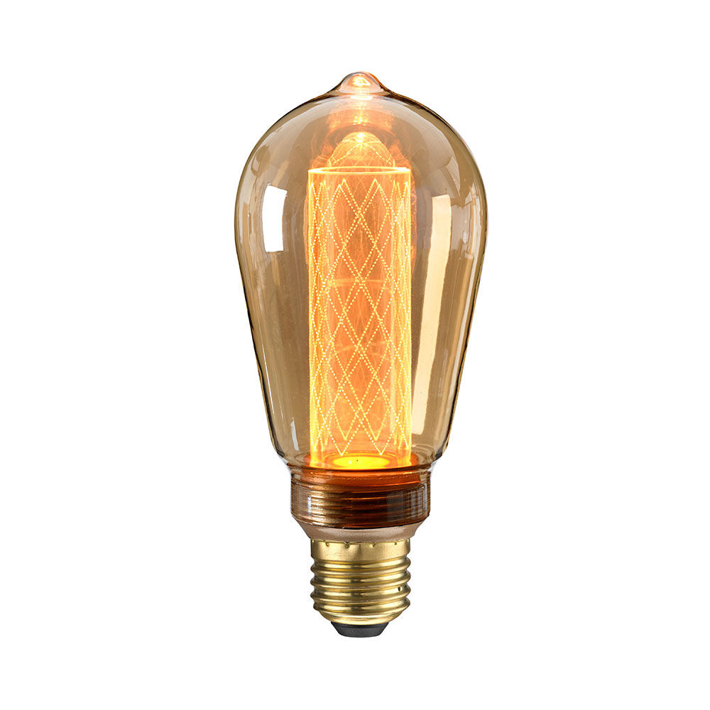 Glödlampa LED Circus Amber