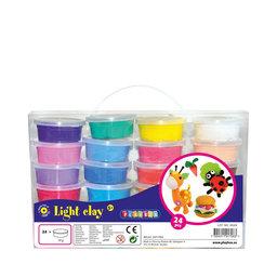 Pysselset Modellera Light, 24 färger