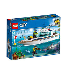 60221 City Great Vehicles, Diving Yacht