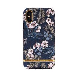 Mobilskal iPhone X Floral Jungle gold details