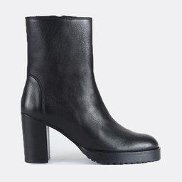 Chunky Boot Nappa Blk