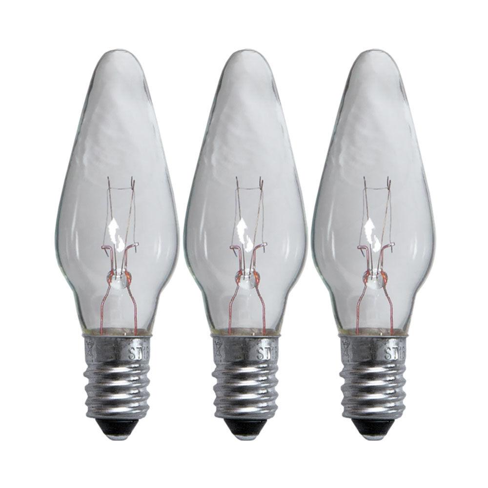 Reservlampa 3-pack LED till 5-armade ljusstakar