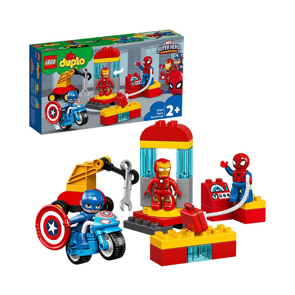 10921 Superhjältarnas labb