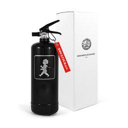 Brandsläckare 2 kg Svart med svart emblem