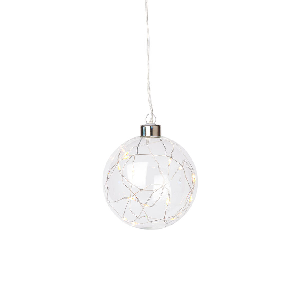 Hängande LED Glaskula