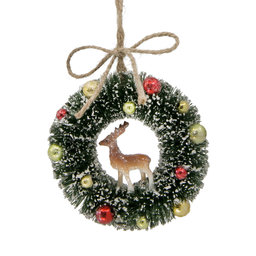 Hängande Ornament Mini Krans 10 cm