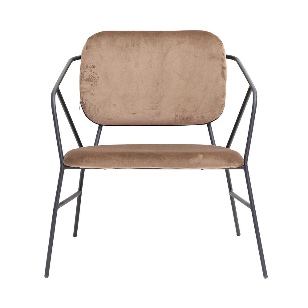Stol Klever brun