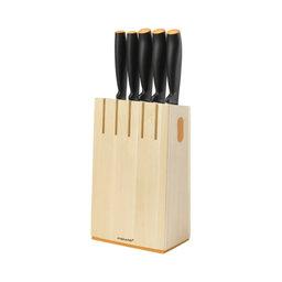 Knivblock inkl. 5 knivar Functional Form
