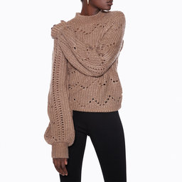 Baloon Sleeve Knit