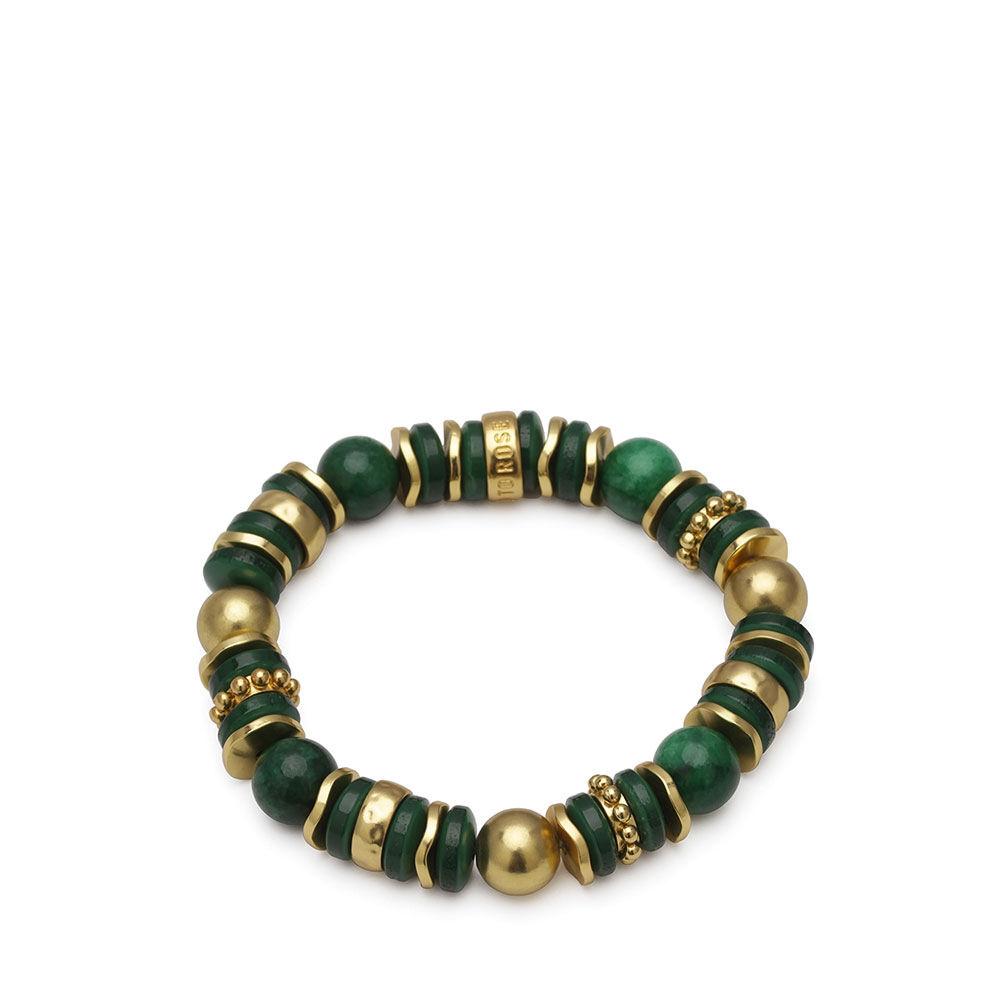 Cornelia armband Green/gold