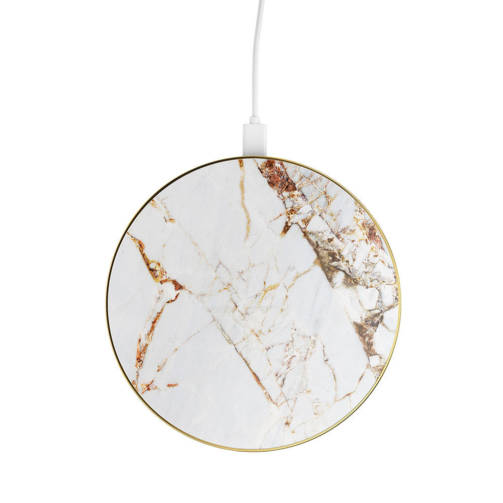 QI-laddare CARRARA GOLD MARBLE