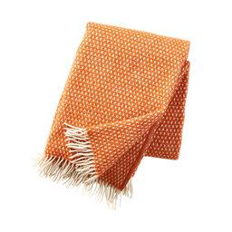Pläd Knut orange