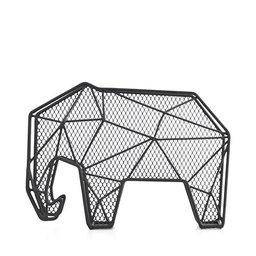Tidskriftssamlare och nyckelhållare Elefant