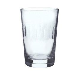 Dricksglas Linsdesign