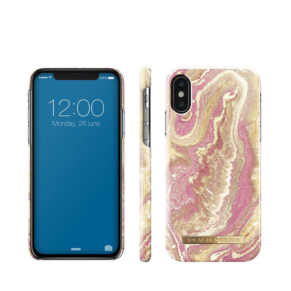 Mobilskal IPHONE X/XS GOLDEN BLUSH MARBLE
