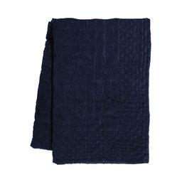 Överkast Paolo 270×260 cm bläckblå