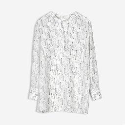 Printed Shirt Tunic