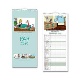 Väggkalender 2020 Parkalendern