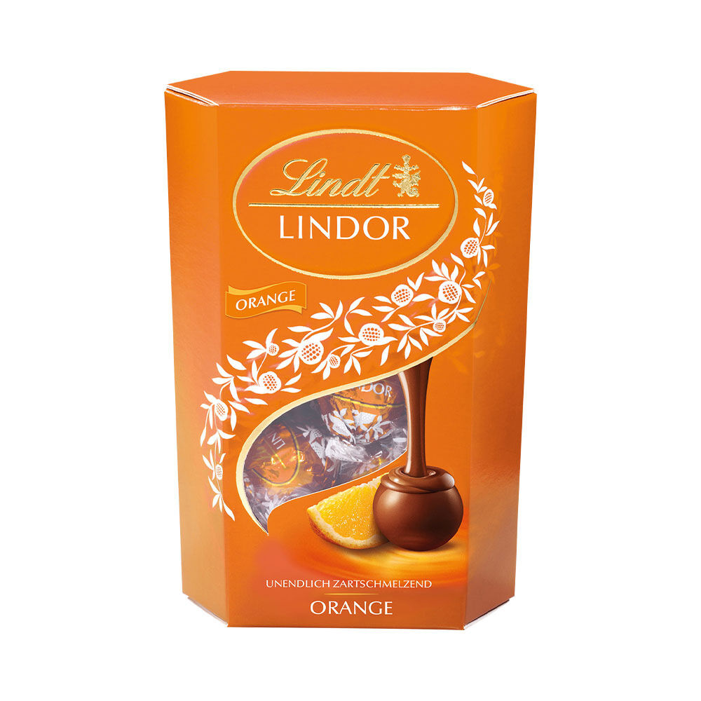 Lindor Cornet Milk Orange 500g