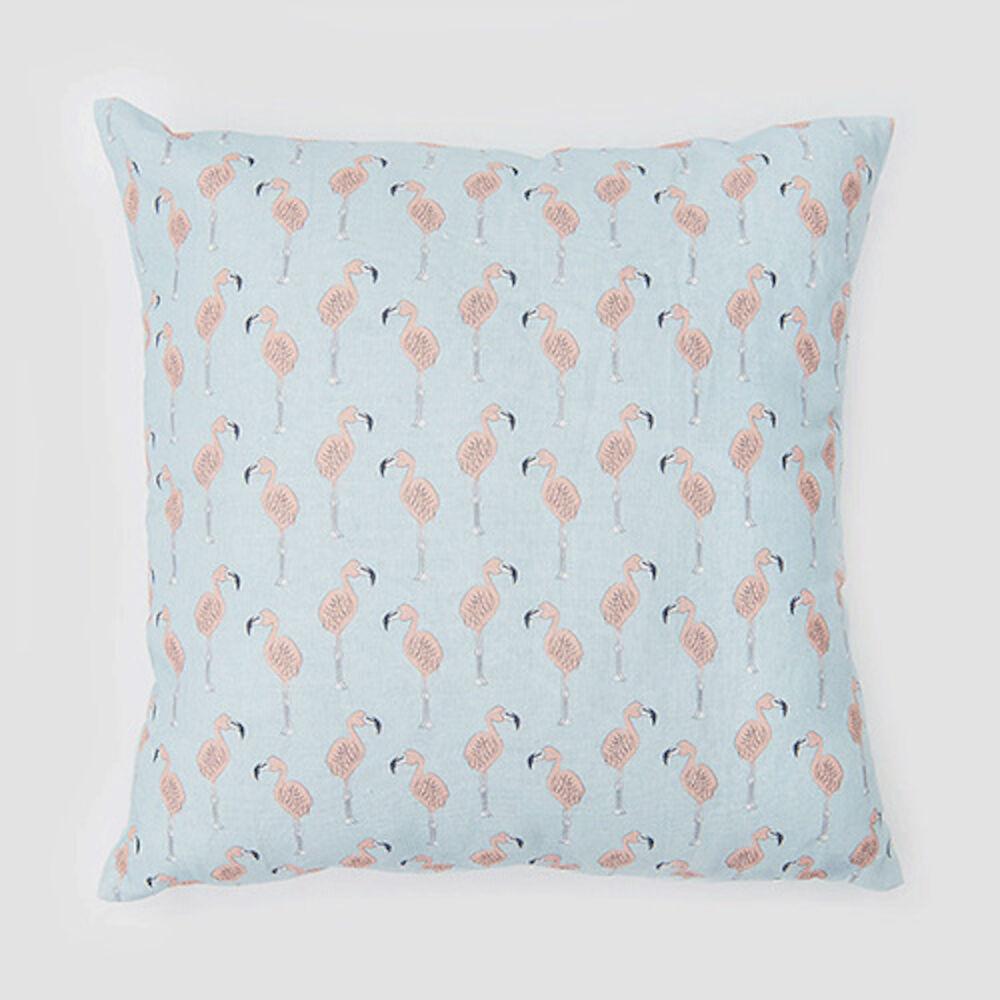 Kuddfodral Flamingo 46×46 cm