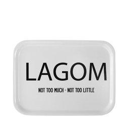 Bricka LAGOM 27×20 cm