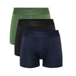 """Resteröds NOOS Boxer Bamboo 3-pack Regular Leg """"Navy"""" XL"""