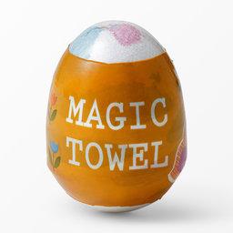 Magisk handduk