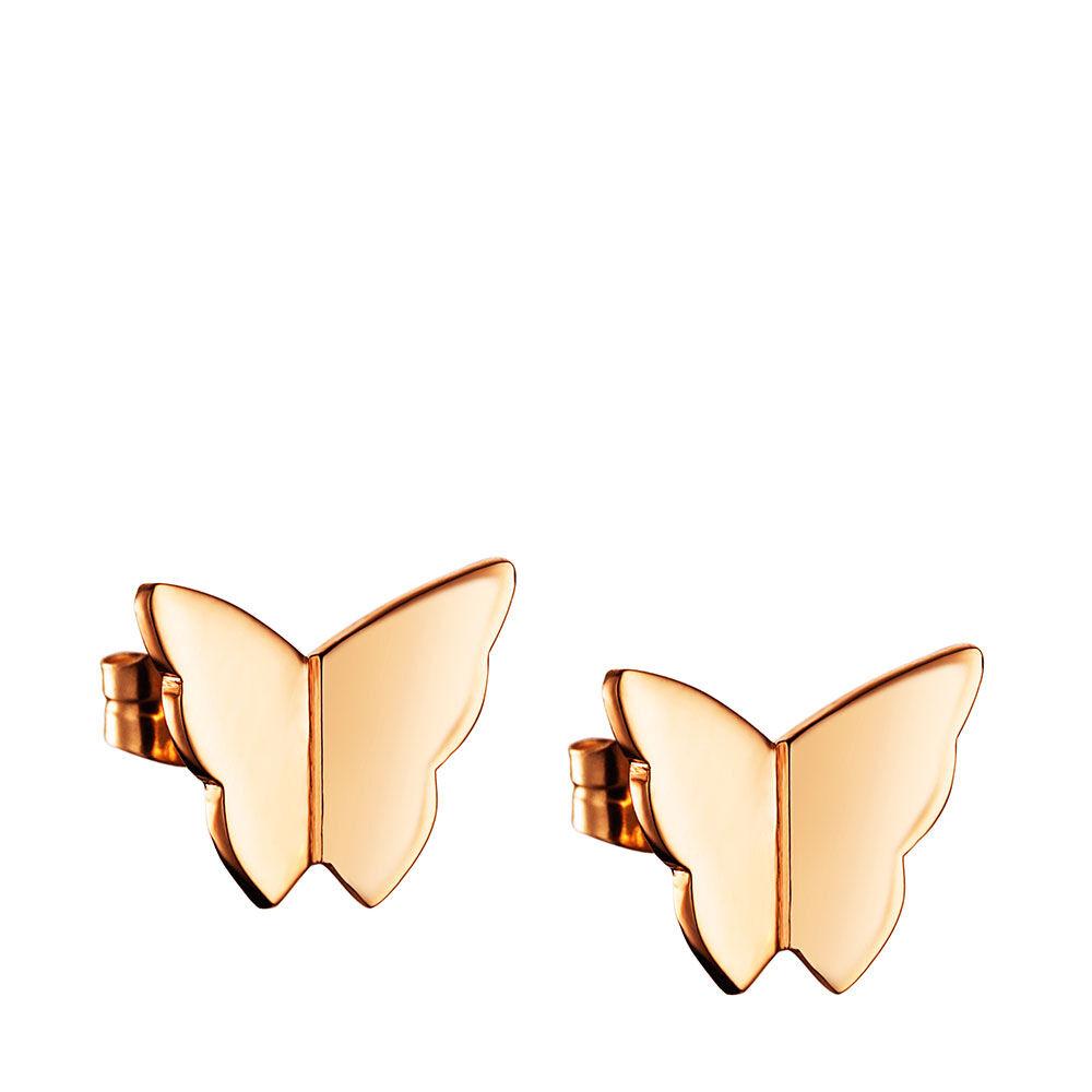 Örhängen Little Miss Butterfly Ear, guld