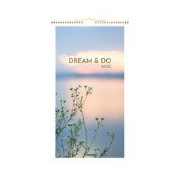 Väggkalender Dream & Do
