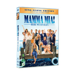 Mamma Mia! Here We Go Again DVD