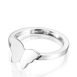 Little Miss Butterfly Ring - Silver