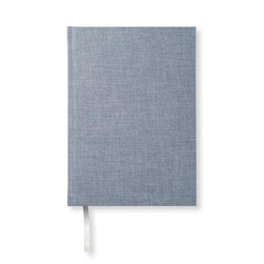 Anteckningsbok A5 128 linjerade sidor denim