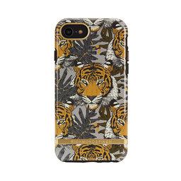 Mobilskal iPhone 6/6S/7/8, Tropical Tiger, gold details