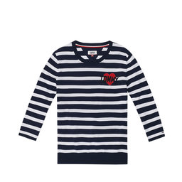 Stripe Badge Sweat