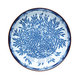 Djup tallrik, Ostindia Floris, 22 cm