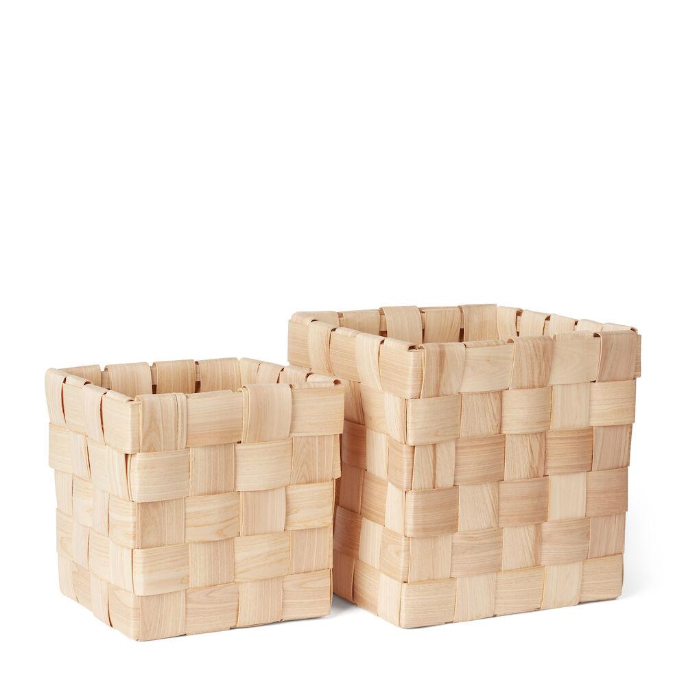 Korg Fläta 2-pack