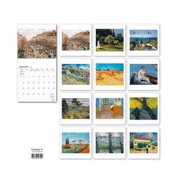 Väggkalender 2020 Impressionists