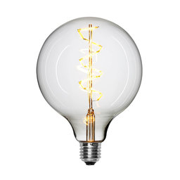 Ljuskälla LED Globe Spiral Ø125 cm