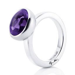 Ring Love Bead Grande Ametist