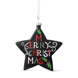 Julgransdekoration Merry Christmas 11 cm