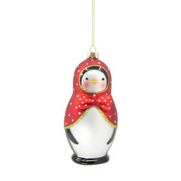 Hängande Ornament Pingvin 13 cm