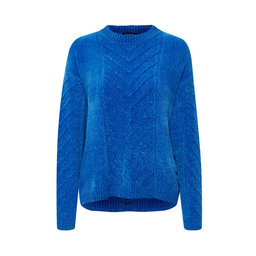 Camila Cable Pullover LS