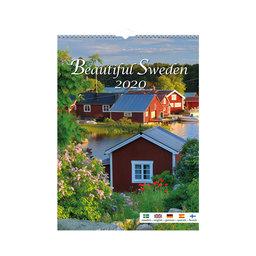 Väggkalender 2020 Beautiful Sweden