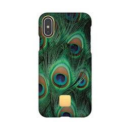 Mobilskal iPhone X/XS peacock