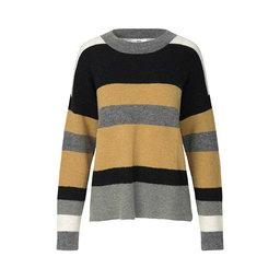 Randig pullover