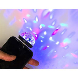 Black Phone Disco Light