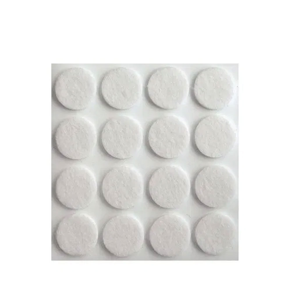 Möbeltassar filt självhäftande 12-pack