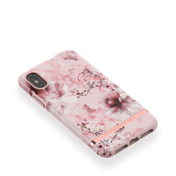 Mobilskal iPhone X/XS Pink Marble Floral