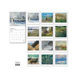 Väggkalender 2020 Claude Monet